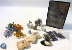 LOT OF ASSORTED SMALL OBJECTS AND ACCESSORIES