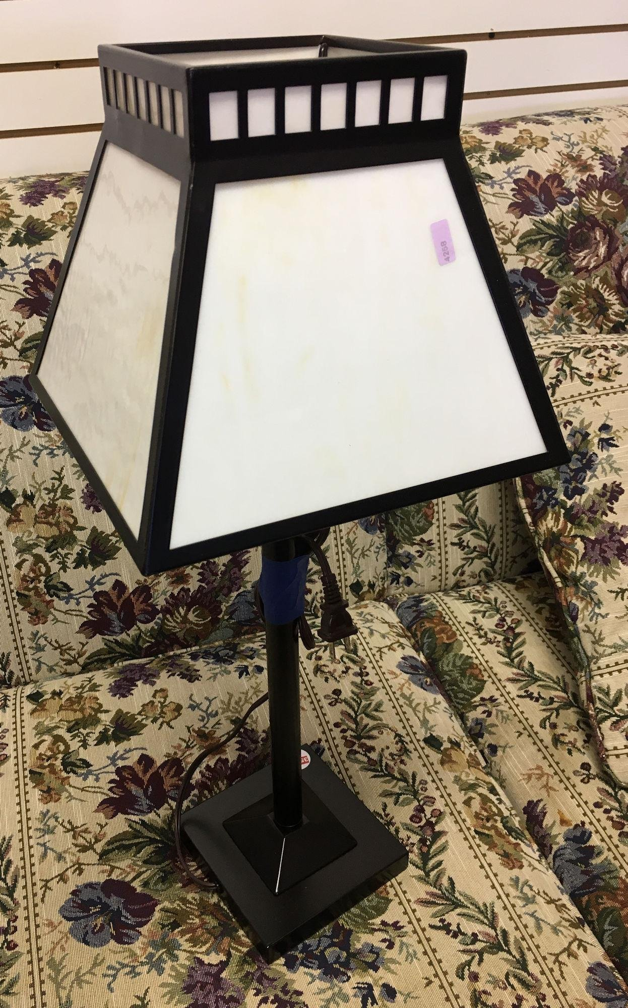 STAINED PLASTIC LAMP