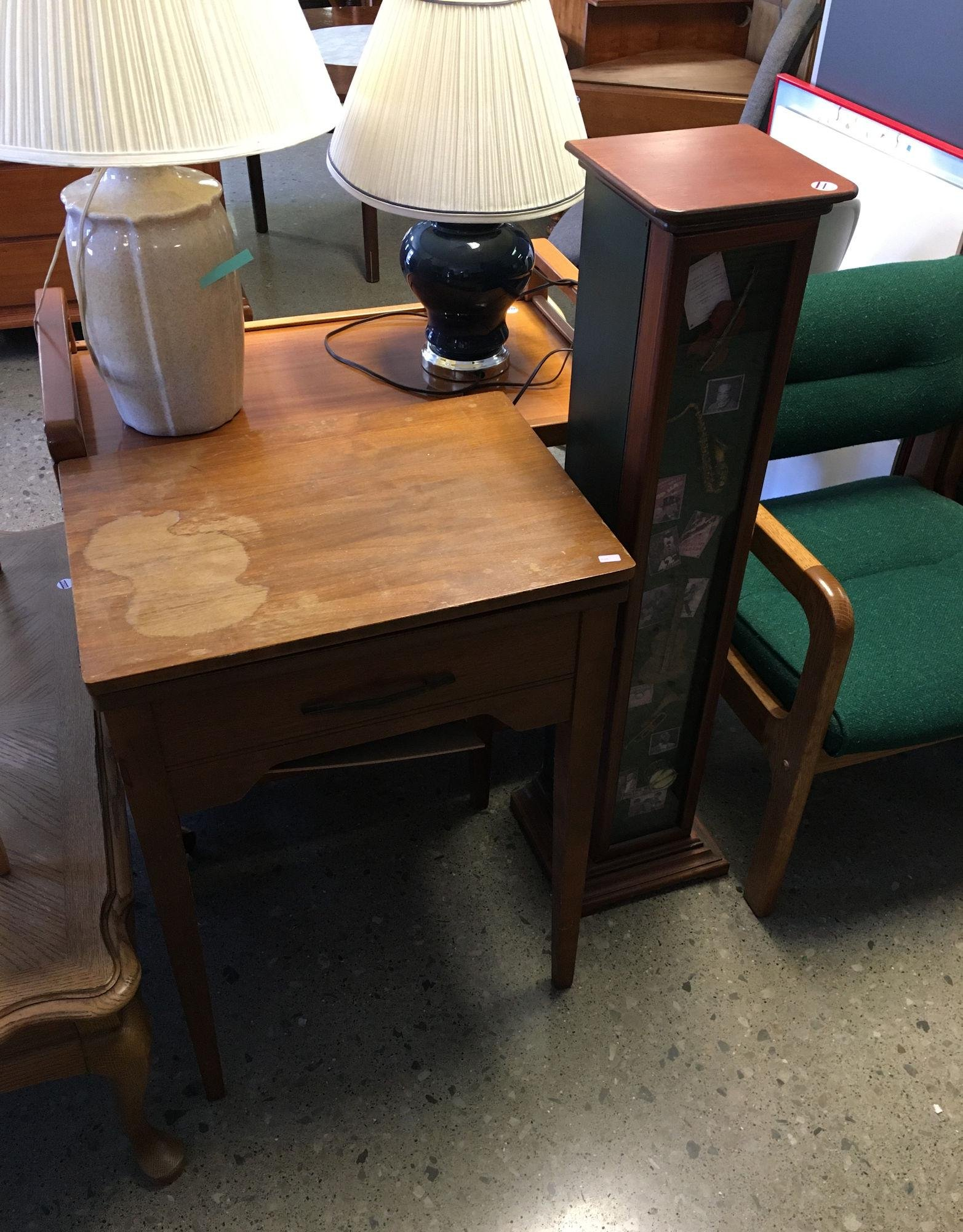SEWING STAND, AND CD CABINET