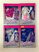 (4) NRFB VINTAGE 1985 BARBIE ASTRO FASHIONS INCLUDING