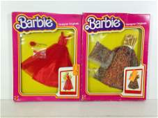(2) NRFB VINTAGE BARBIE DESIGNER ORIGINALS FASHIONS