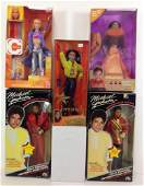 LOT 5 BOXED PERSONALITY DOLLS NRFB INCLUDES TWO
