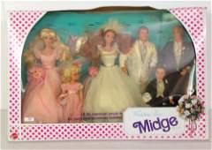 "NRFB VINTAGE ""WEDDING DAY MIDGE"" GIFT SET."