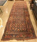 ORIENTAL RUG SEMI ANTIQUE PERSIAN MAHAL 42 X 14