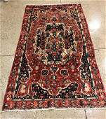 ORIENTAL RUG  SEMI ANTIQUE PERSIAN 410 X 811