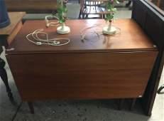 CHERRY HEPPLEWHITE DROP LEAF TABLE