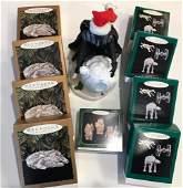 BOX LOT CHRISTMAS INCLUDING 9 STAR WARS HALLMARK