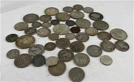 ASSORTED VINTAGE U.S. SILVER COINS
