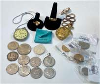 COINS ACCESSORIES AND WATCHES