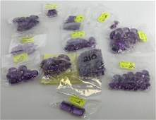 382 LOOSE AMETHYST GEMSTONES