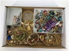 LOT OF ASSORTED FASHION AND COSTUME JEWELRY AND