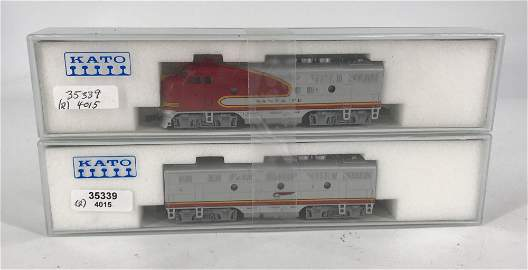 KATO N SCALE SF F3A, PHASE 2, AND SF F3B PHASE 2, LIKE
