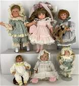 Lot of boxed and unboxed dolls- (4) Boxed including Lee