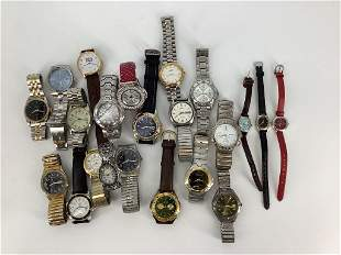 Lot of Assorted Wrist Watches