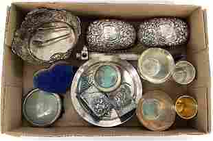 Lot of Assorted Housewares Including Sterling and