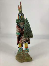 "Hopi ""Flower Kachina� doll Tsitoto, artist is"