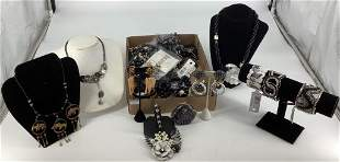 Box Lot Fashion + Costume Jewelry and Accessories