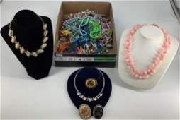 Box Lot Fashion + Costume Jewelry + Accessories