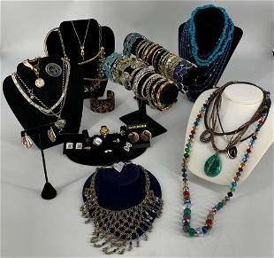 Lot of Assorted Fashion Jewelry + Accessories