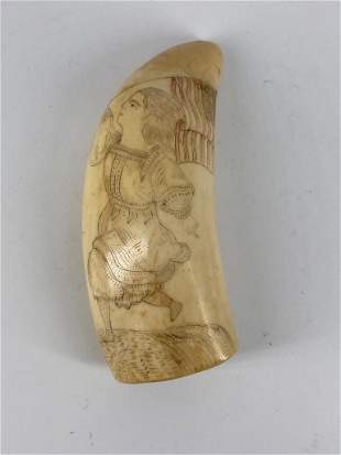 Ivory Animal Tooth
