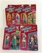 "(5) NRFP VINTAGE KENNER ""GLAMOUR GALS"" INCLUDING SHARA,"