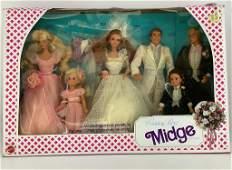 "NRFB 1990 ""Wedding Party"" Midge gift set."