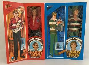 (2) vintage Kenner 1978 The Hardy Boys action figures