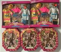 "(7) NRFB Barbie gift sets including (4) ""Caring"