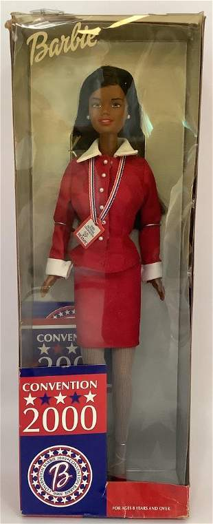 NRFB 2000 Convention African American Barbie presented