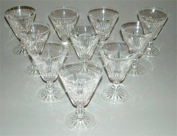 5007: (10) WATERFORD CRYSTAL GOBLETS