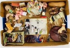 Lot of miscellaneous smalls and miniatures - frozen