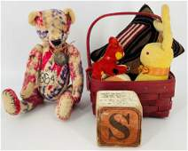 Lot of miscellaneous items including small red