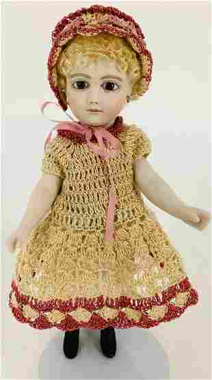 """7¼"""" Cathy Hansen all porcelain doll """"Nicole"""".from the"""