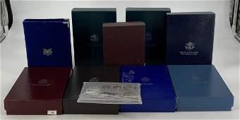 Lot of 10 US Mint Prestige Proof Coin Sets