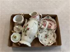 Lot of china including Rosenthal teapot and small dish