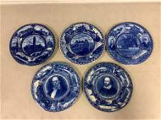 Box lot 5 Rowland and Marsellus Co. Souvenir plates