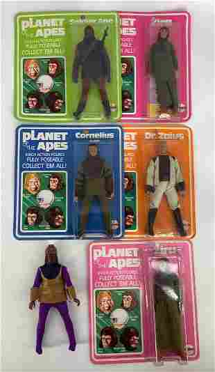 (6)Planet Of The Apes-(5) are in original boxes- Ape