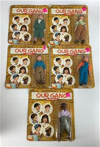 (5) Our Gang-Porky-Alfalfa-Spanky-Mickie-Buckwheat in