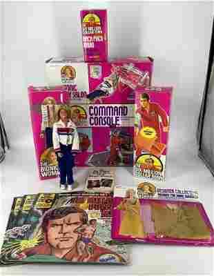 (12) dolls & playsets - The Six Million Dollar Man-The