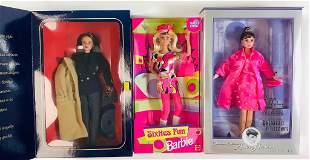 (3) boxed Barbies including Ralph Lauren Barbie, Audrey