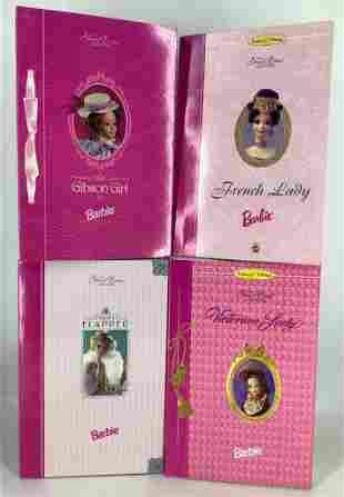 (4) Barbie from the GREAT ERAS COLL. including