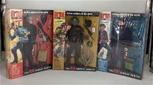 """(3) Hasbro G.I. Joe """"Action Soldiers of the World""""."""