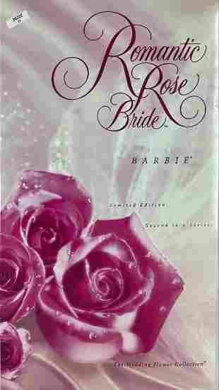 ROMANTIC ROSE BRIDE BARBIE - 2nd in series of Wedding