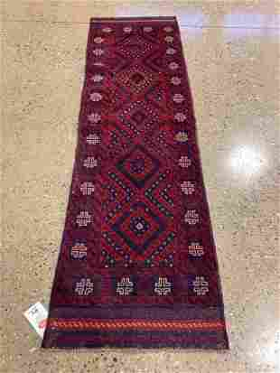 Oriental rug, Afghani Turkoman runner, 2 ′1