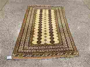 Oriental rug, Turkoman, 4 ′1 ″ x 7