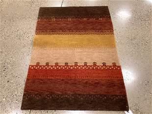 Oriental rug, Indo Gabbeh, 3 ′9 ″ x