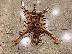 Oriental rug, Hand tufted Indo tiger rug, 3 ′