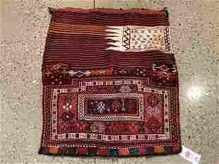 Oriental rug, Antique Kurdish, 3 ′.3 &