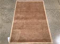 Oriental rug, Sino Tabriz silk and wool, 3 ′9