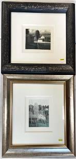 2 framed prints, limited edition.